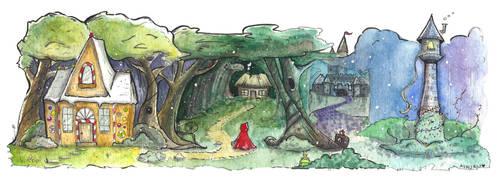 Fairytales by aunjuli