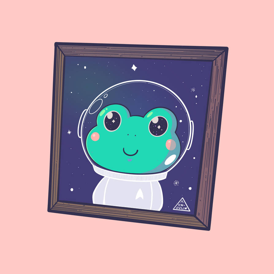 Space Frog Doodle