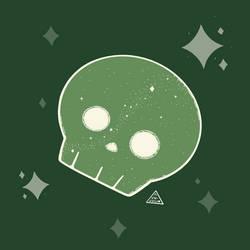 Starlight Skulls Green Variant 2