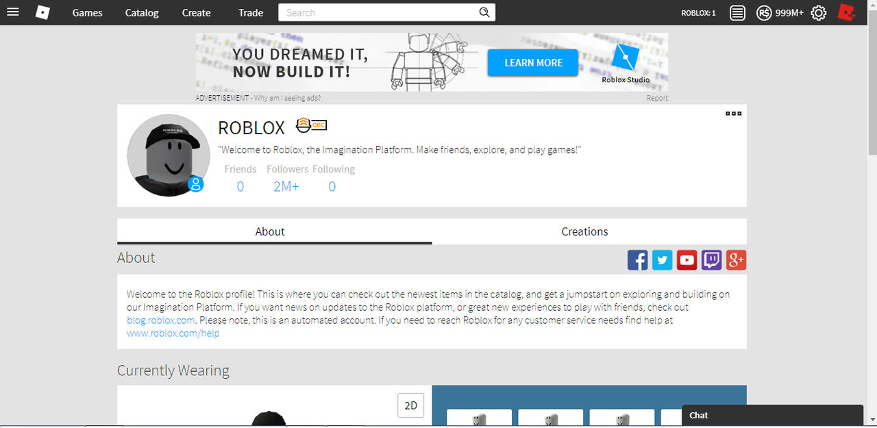 Roblox PROFILE by ROBLOX-creator on DeviantArt