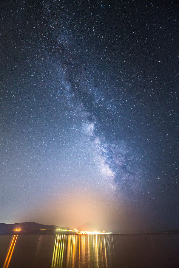 The Milky Way over Pylos by Ganjalvi