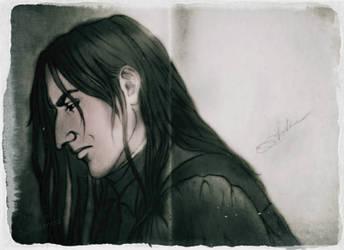 Severus Snape by DeolaS