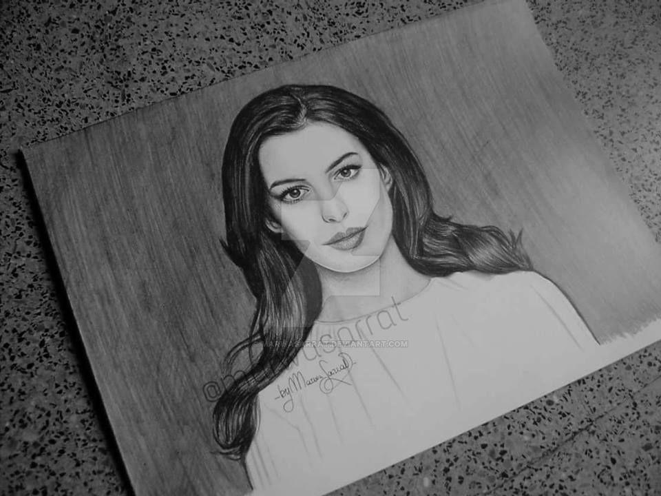 Anne Hathaway by MarwaSarrat