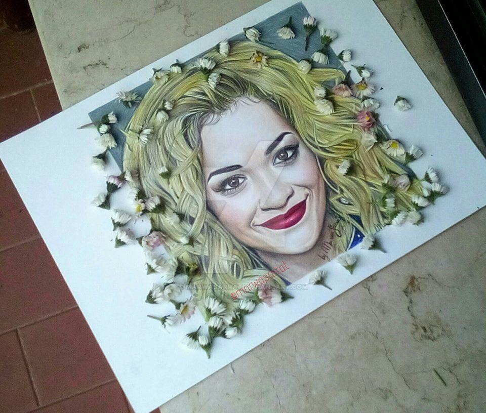 Rita Ora by MarwaSarrat