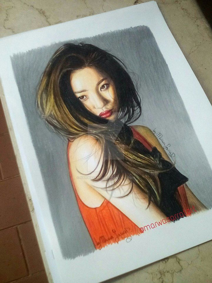 Lee Sunmi by MarwaSarrat