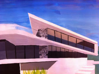 Painting Architecture by Roudort
