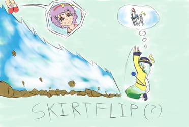 The Ultimate Skirt Flip! by Arkeden