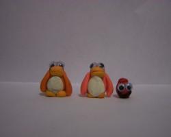 Club penguin models by Prawnball