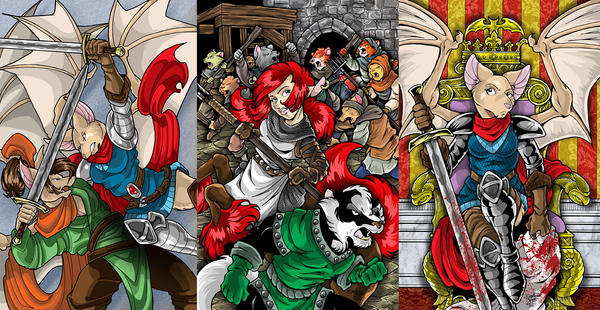 TALL TAILS: The Peacekeepers NOW ON KICKSTARTER! by DaphneLage