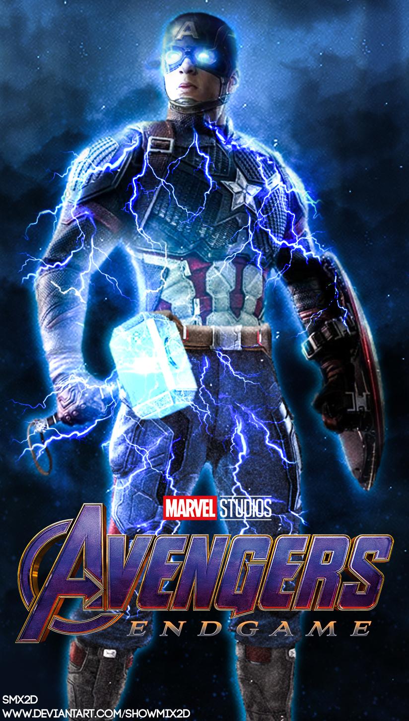 Captain America Endgame Wallpaper by ShowMix2D on DeviantArt