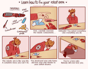 How to Fix Your Robotic Arm