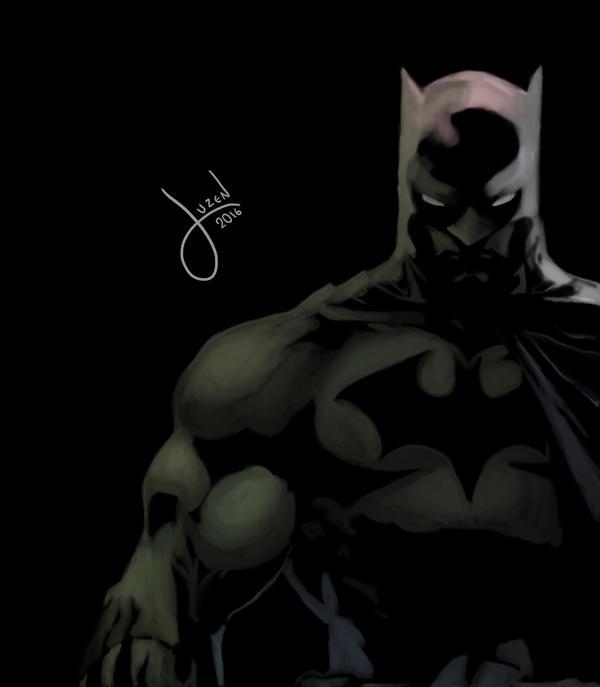 Batman based on Neal Adams by JuzenArt
