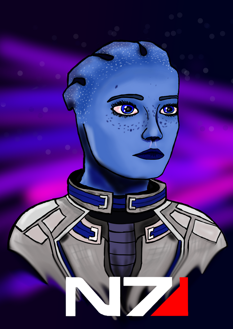 Liara from Mass Effect by JamesW445