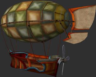 Airship by Kentameadowwolf