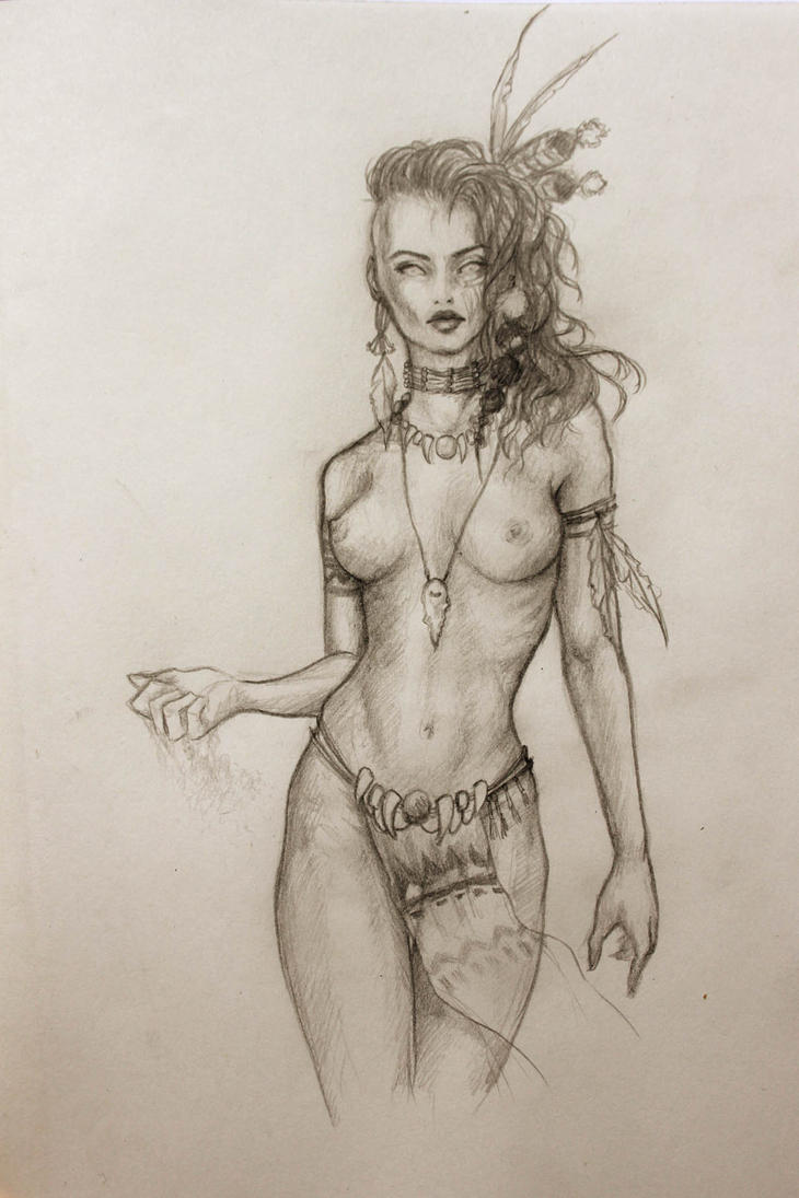 indian women nude sketches