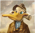 Fisherman Duck