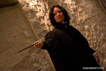 Severus Snape -Cosplay 3 by CrazyInsaneJess