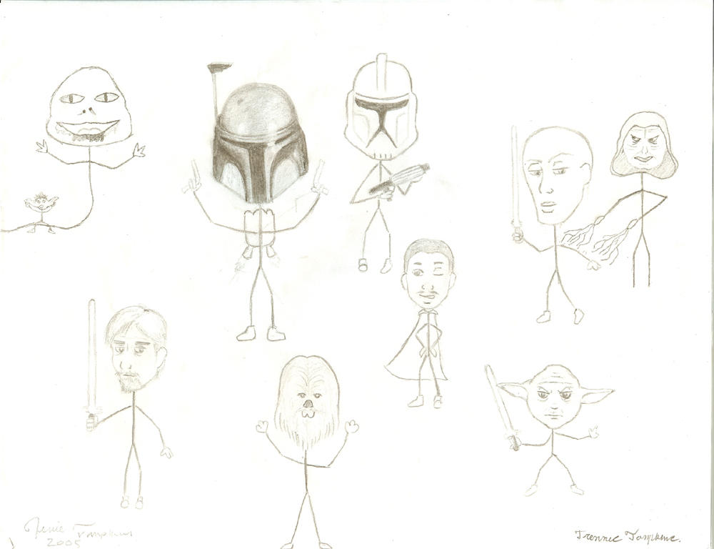 how to draw awesome stick figures