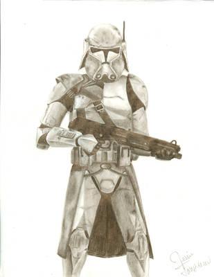 Commander Bacara by CrazyInsaneJess