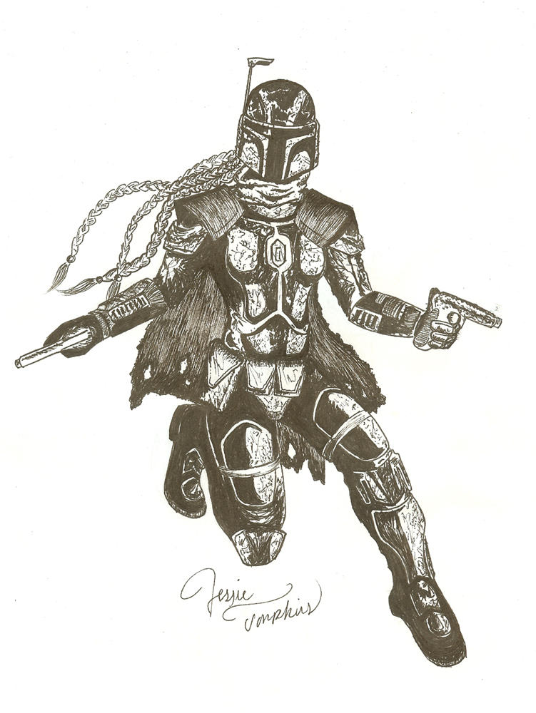 Female Mandalorian by CrazyInsaneJess