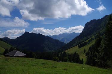 Montagnes Suisses #1 by Melanie-Melaka