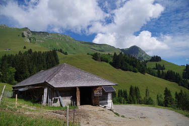 Montagnes Suisses #3 by Melanie-Melaka