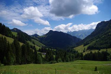 Montagnes Suisses #4 by Melanie-Melaka