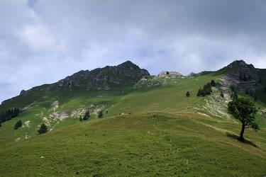 Montagnes Suisses #8 by Melanie-Melaka