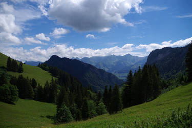 Montagnes Suisses #10 by Melanie-Melaka
