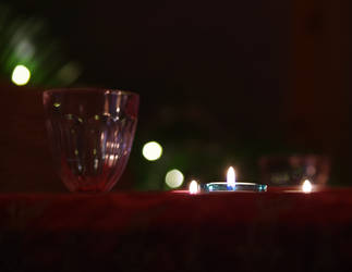 Christmas table by Melanie-Melaka