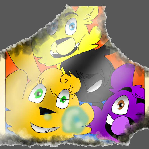 FNAF. An old photo.... by Akzuz555