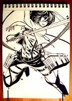 064: Mikasa by 365-Hatsu