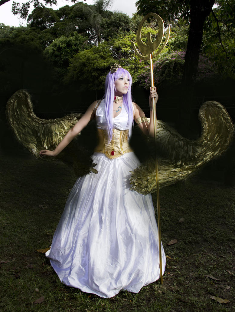 Athena Cosplay by Alexamadden