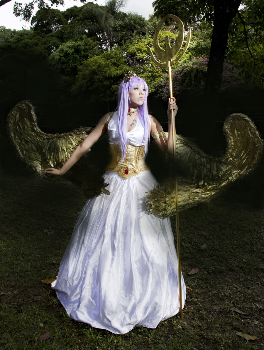 Athena Cosplay by Alexamadden