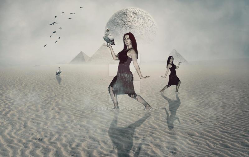 Walk like an egyptian by iblushay