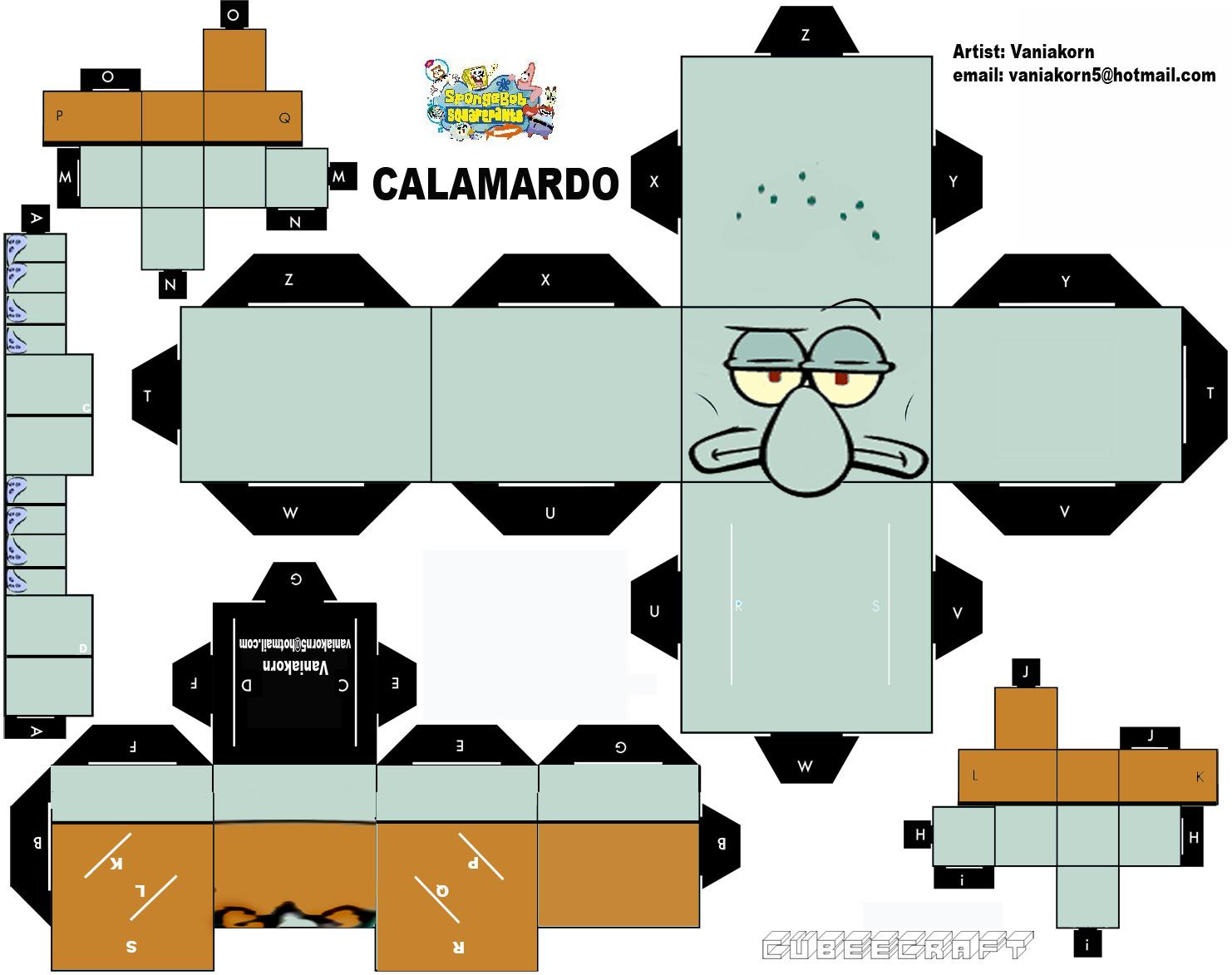 Cubeecraft de Bob Esponja.