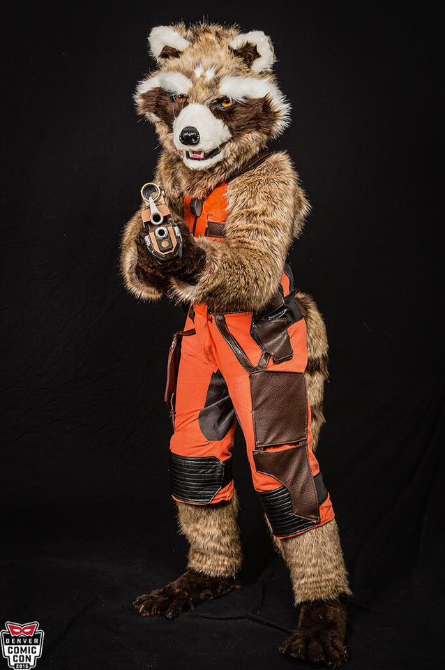 Rocket Raccoon Cosplay by StraylightRevelation