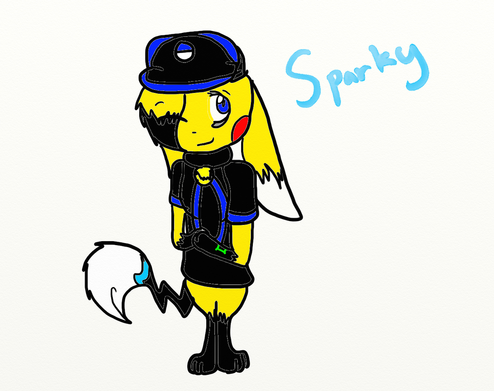 Sparky's New Look by SparkyChan23