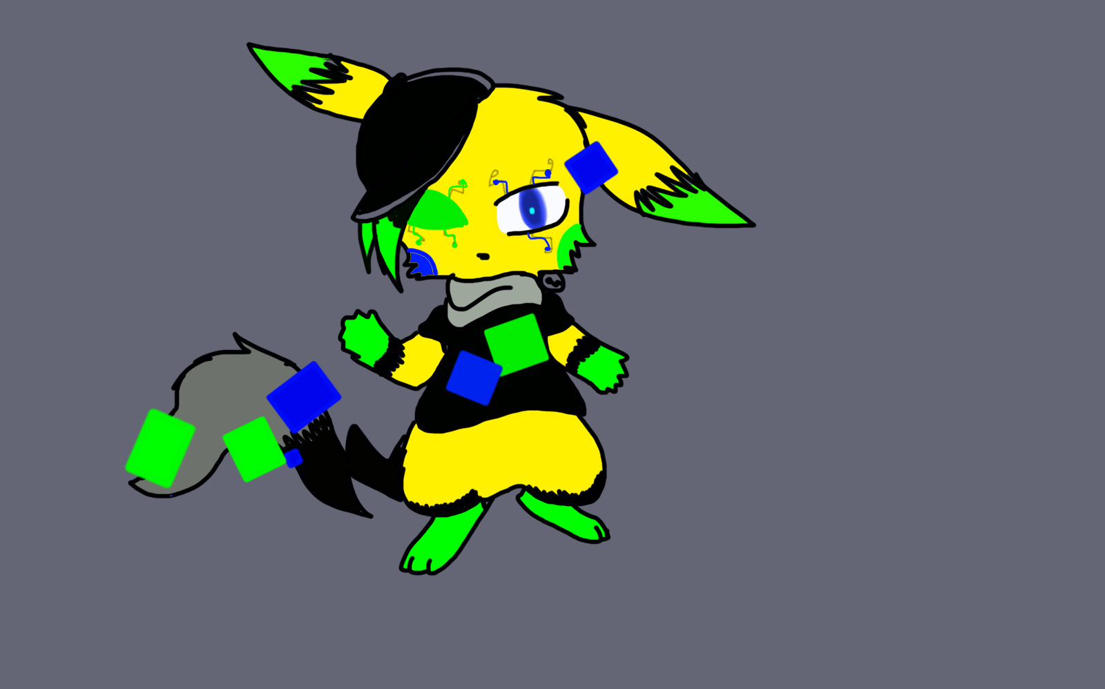Virus!Sparky by SparkyChan23