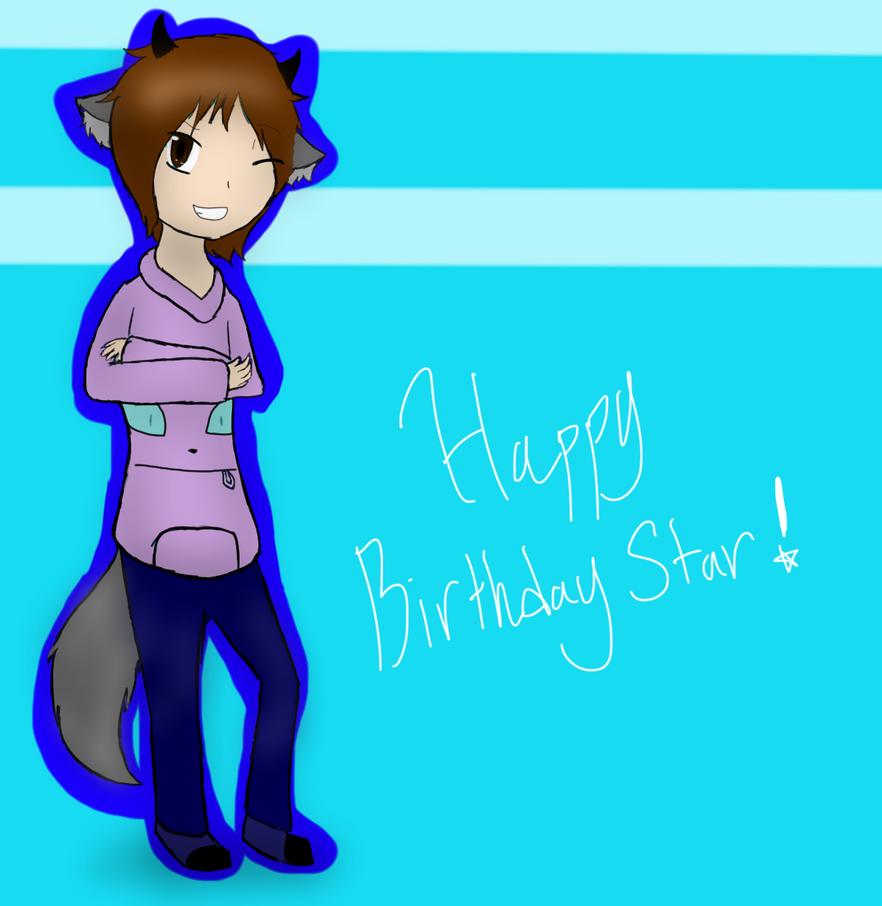 Happy Birthday Star! by SparkyChan23