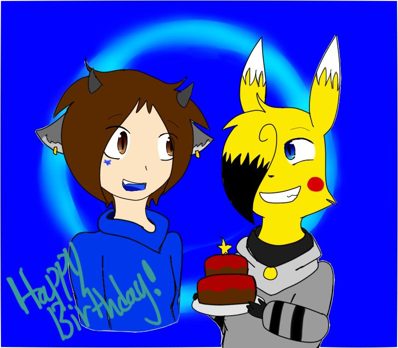 Happy Birthday Star by SparkyChan23