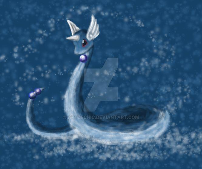 Dragonair by artzechic