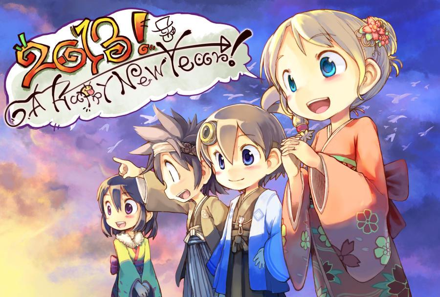 A Happy New Year by tabihito