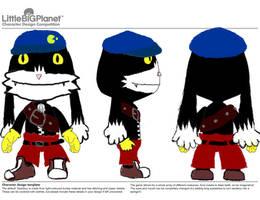 LittleBigPlanet Klonoa costume by RADRED89