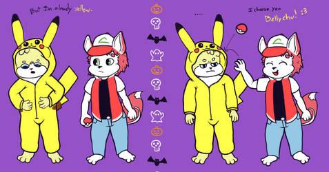Bellyrub pikachu