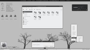 Faders, new fluxbox theme by leodelacruz