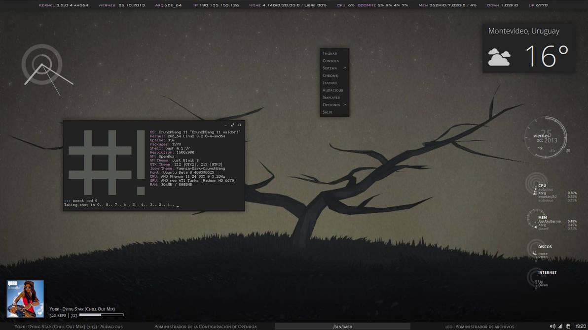 Just Black My New OpenBox Theme by leodelacruz