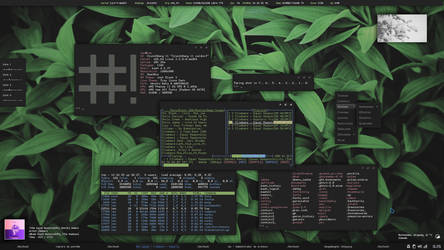 Just Updated, Just Black Openbox Theme