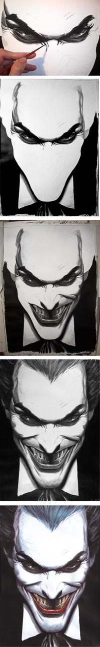Making Joker by Zigno