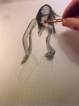 Making Adriana Lima by Zigno